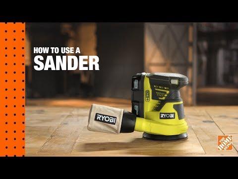 How to Use a Sander: A DIY Digital Workshop | The Home Depot