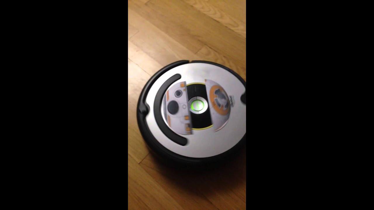 Youtube Troom Troom Makeup: Star Wars BB-8 Roomba!