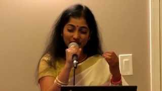 09 14 2014 Lakshmi sings Eeren kaatil