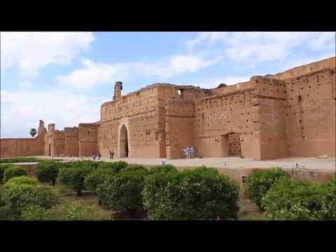 Around Marrakech - Saadian Tombs, El Badi Palace, Jemaa el Fnaa