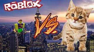 Jay And Friends VS loleris's Mad Catzilla!?!?!?!?!? (Roblox Mad Games)