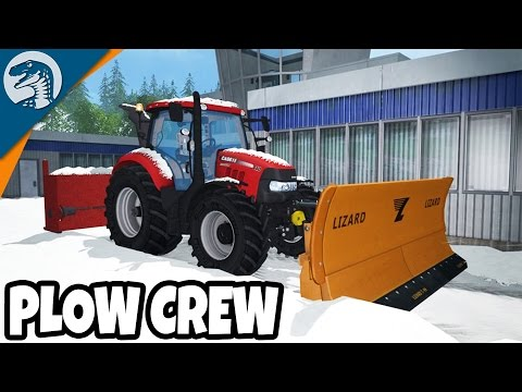 HUGE SNOWSTORM DIG OUT   Farming Simulator 17   Multiplayer Gameplay