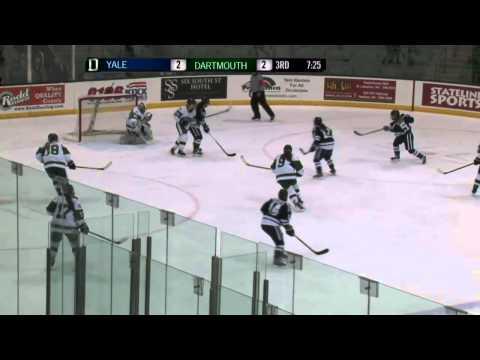 Dartmouth Women's Hockey Highlights vs. Yale (Feb. 7, 2015)