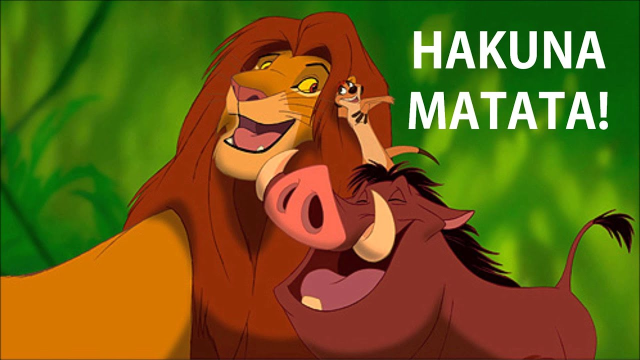 17b81d75c 8 Situations In Life When 'Hakuna Matata' Can Be Used To Solve The Problem  (in some way atleast)