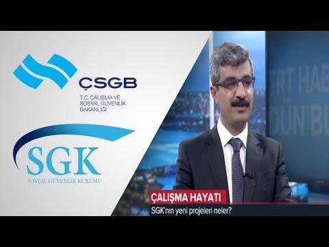 SGK Başkanı Dr. Mehmet Selim Bağlı TRT Haber - 03.04.2017