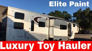 Luxe 44FB Toy Hauler 5th wheel - High End Luxury Toy Hauler fifth wheel