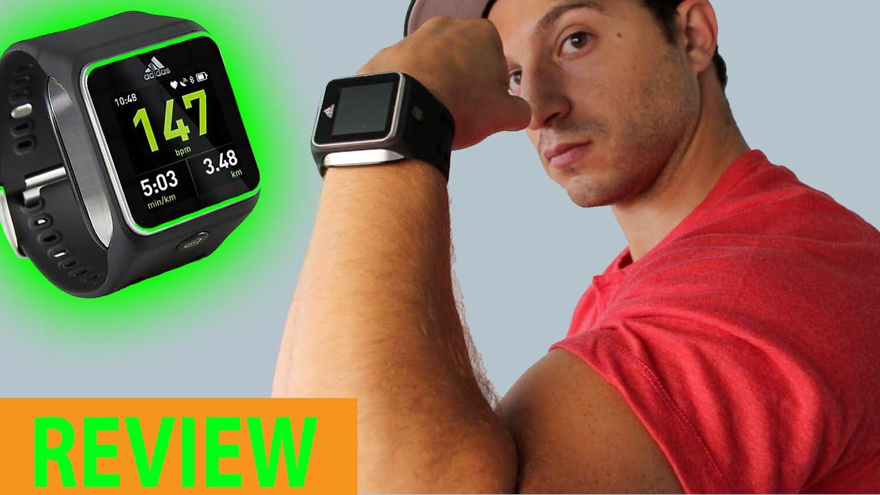 lona alineación Ventilar  Adidas micoach Smart Run Review, Demo, Pros & Cons - Best Running Fitness  Band? - YouTube