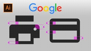 Google Icon Design 구글 아이콘 디자인강…