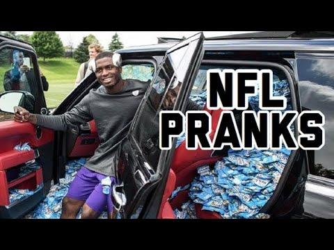 NFL Funniest Pranks