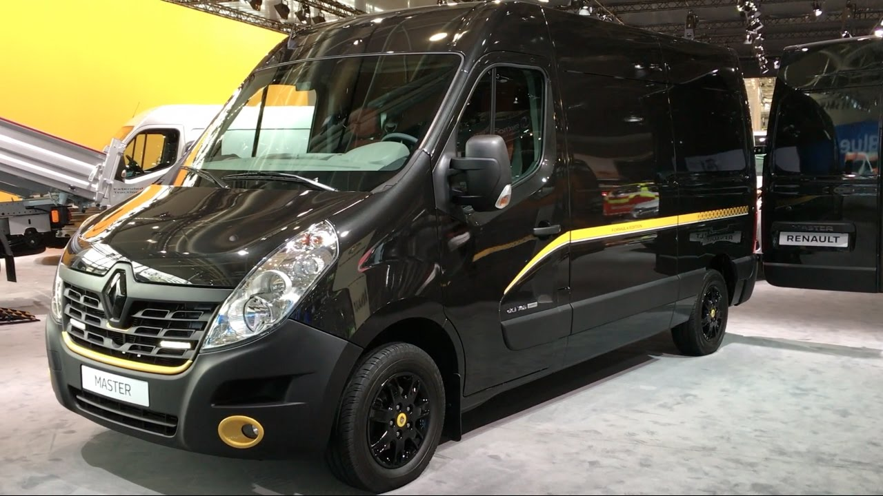Renault Master Formula Edition 2017 In detail review ...