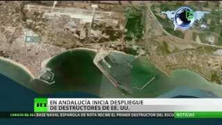 España: El destructor de EE.UU. Donald Cook llega a la base de la OTAN en Rota