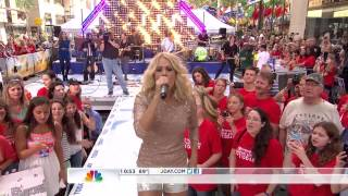 CarrieUnderwood Before He Cheats TodayShow 15 08 2012 HD