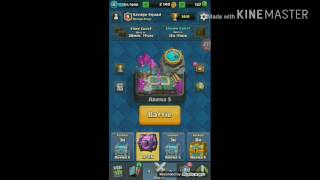 CLASH ROYALE| Magical Chest Opening #1