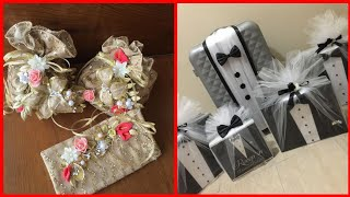 Very beautiful wedding gift wrapping decoration ideas