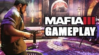 Mafia 3 New Gameplay Trailer: A Montage With NO Commentary (PS4 Xbox One PC)