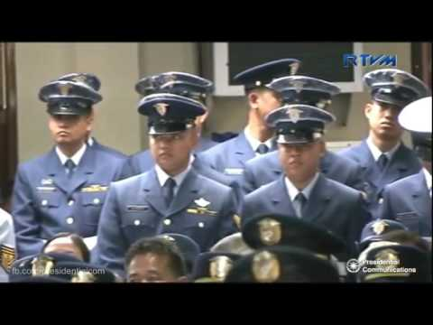 President Rodrigo Duterte leads the 115th Philippine Coast Guard Anniversary October 12 2016