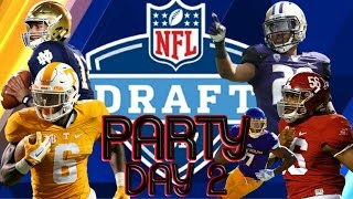 Louie Tee Network 2017 NFL DRAFT PARTY LIVE! 2nd & 3rd React & Analysis....