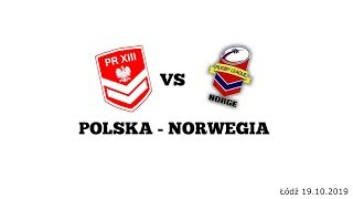 Polska - Norwegia mecz rugby league