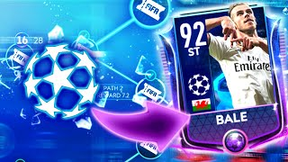 Road To 90+ Ovr Master - 91ovr Bale - Champions League Pack Opening In Fifa Mobi