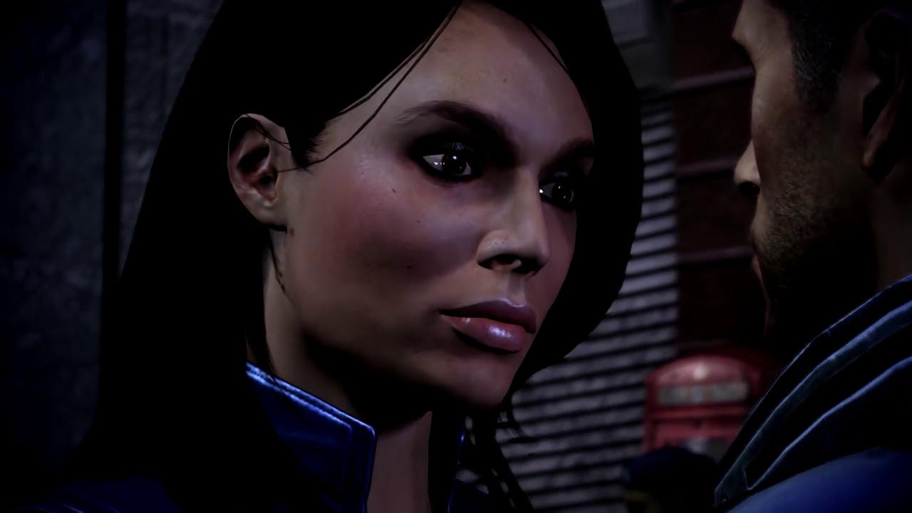 Mass Effect 3 - Ashley Williams Last Romance Scene - Youtube-7787
