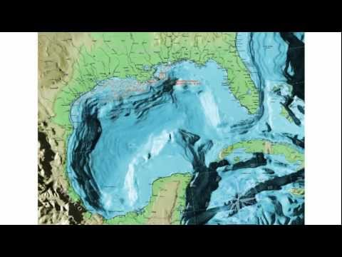 The Earth Expansion Theory in the Gulf of Mexico