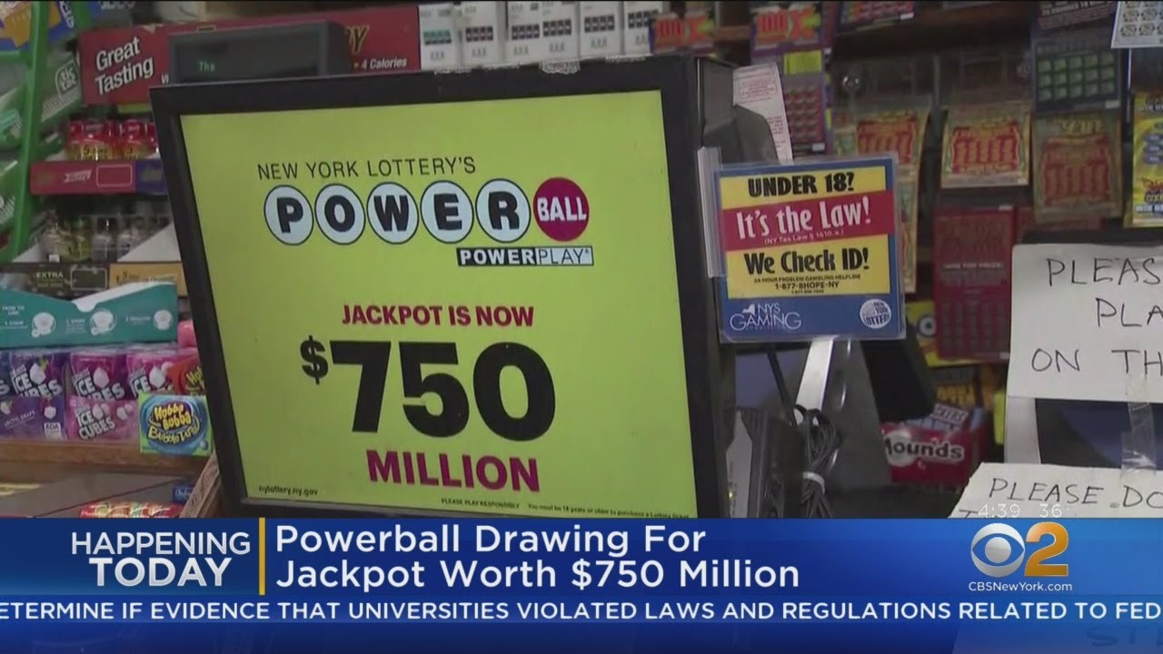 750m Powerball Drawing Tonight Youtube