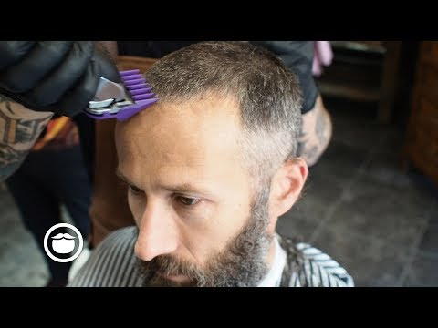 Buzz Cut And Beard Trim