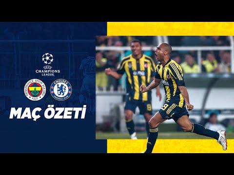 MAÇ ÖZETİ: Fenerbahçe 2-1 Chelsea (2007-08 Şampiyonlar Ligi)   Fenerbahçe SK