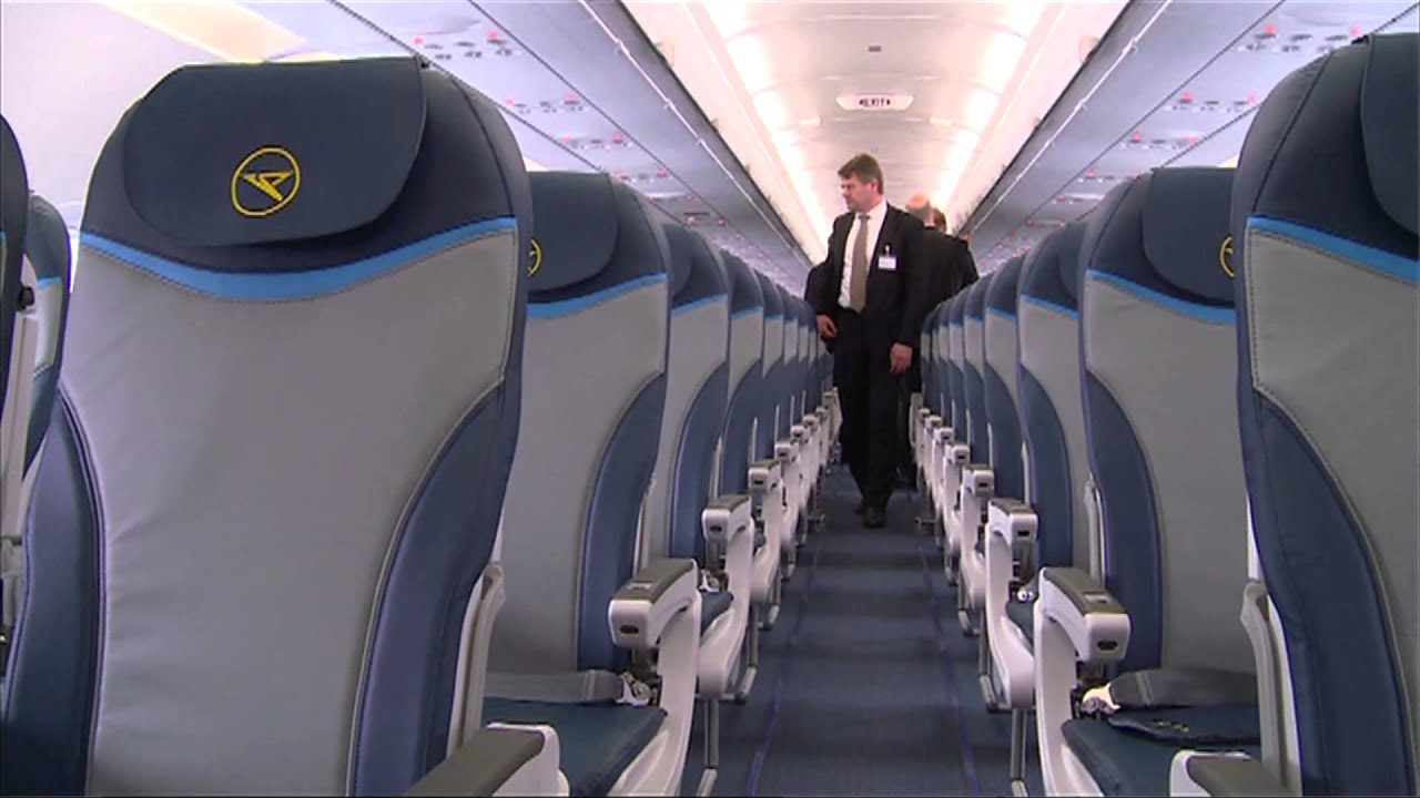 Condortv ein neuer airbus a321 211 f r die thomas cook for Interieur boeing 757