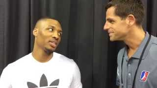 "Damian Lillard says the NBA D-League ""makes you hungry,"" supports Oakland friend Will Cherry"