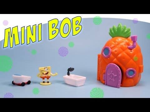 SpongeBob Squarepants Pineapple House Mini Playset Simba Toys