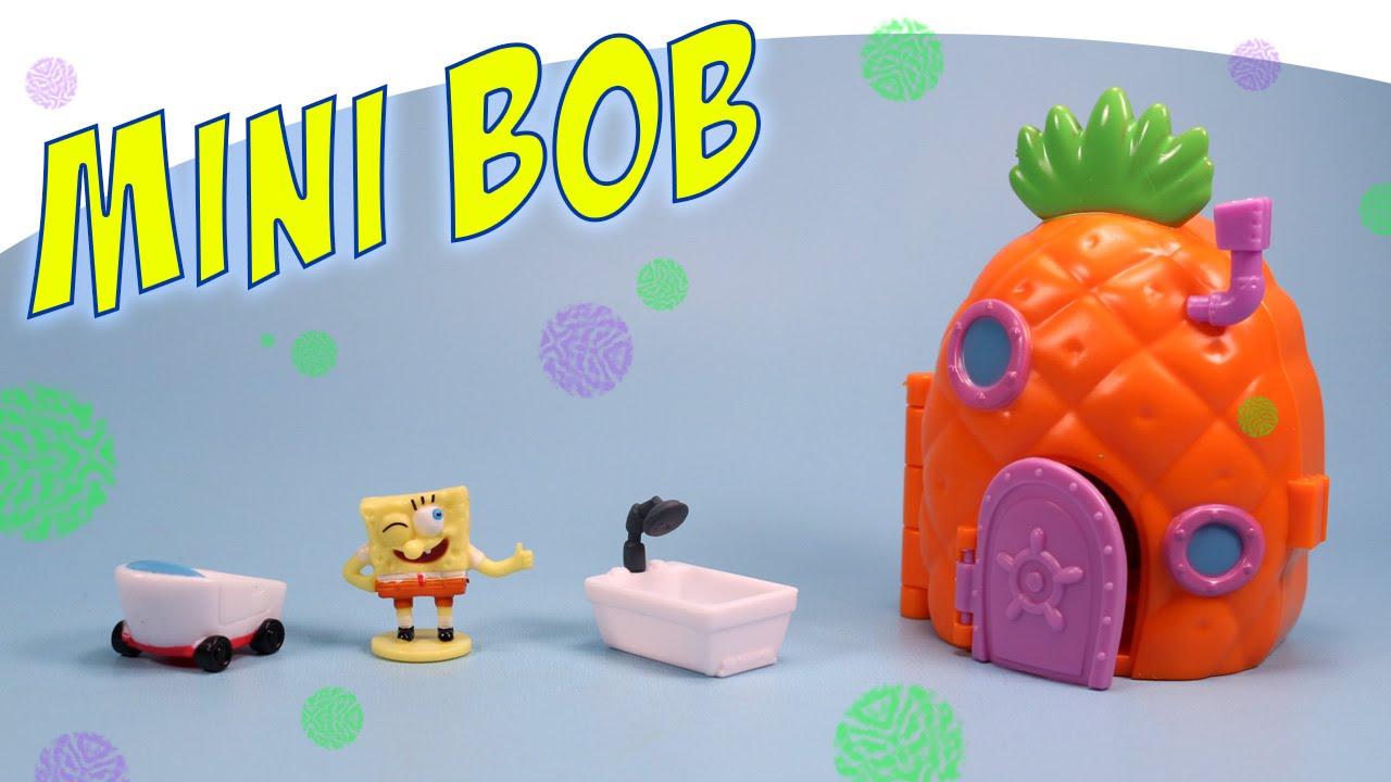 spongebob squarepants pineapple house mini playset simba toys youtube - Spongebob Bedroom Set