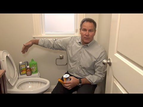 """HouseSmarts """"Fix It in 15:00 Toilet Bowl Stains"""" Episode 187"""