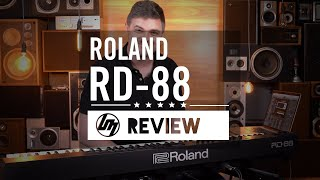 Roland RD-88 Digital Stage Piano Review | Better Music