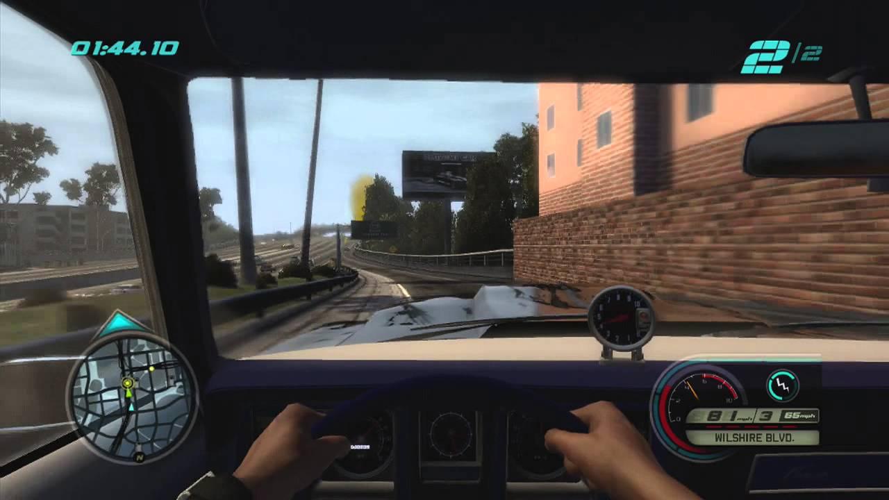 La Los Angeles Cars Video Game