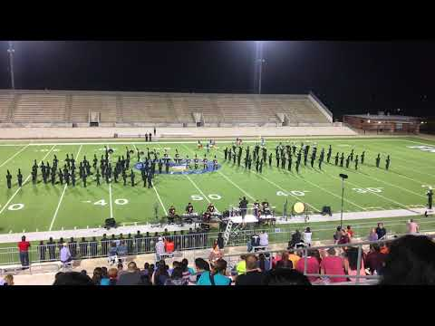South Houston High School Marching Band 2017 Region XIX Performance