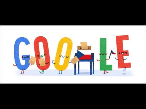 Czech Republic Parliamentary Elections 2017 - google doodle