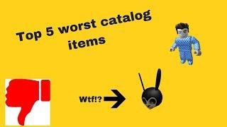 Top 5 schlechteste Katalogartikel auf Roblox