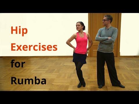5 Hip Exercises for Rumba / Latin Dancing