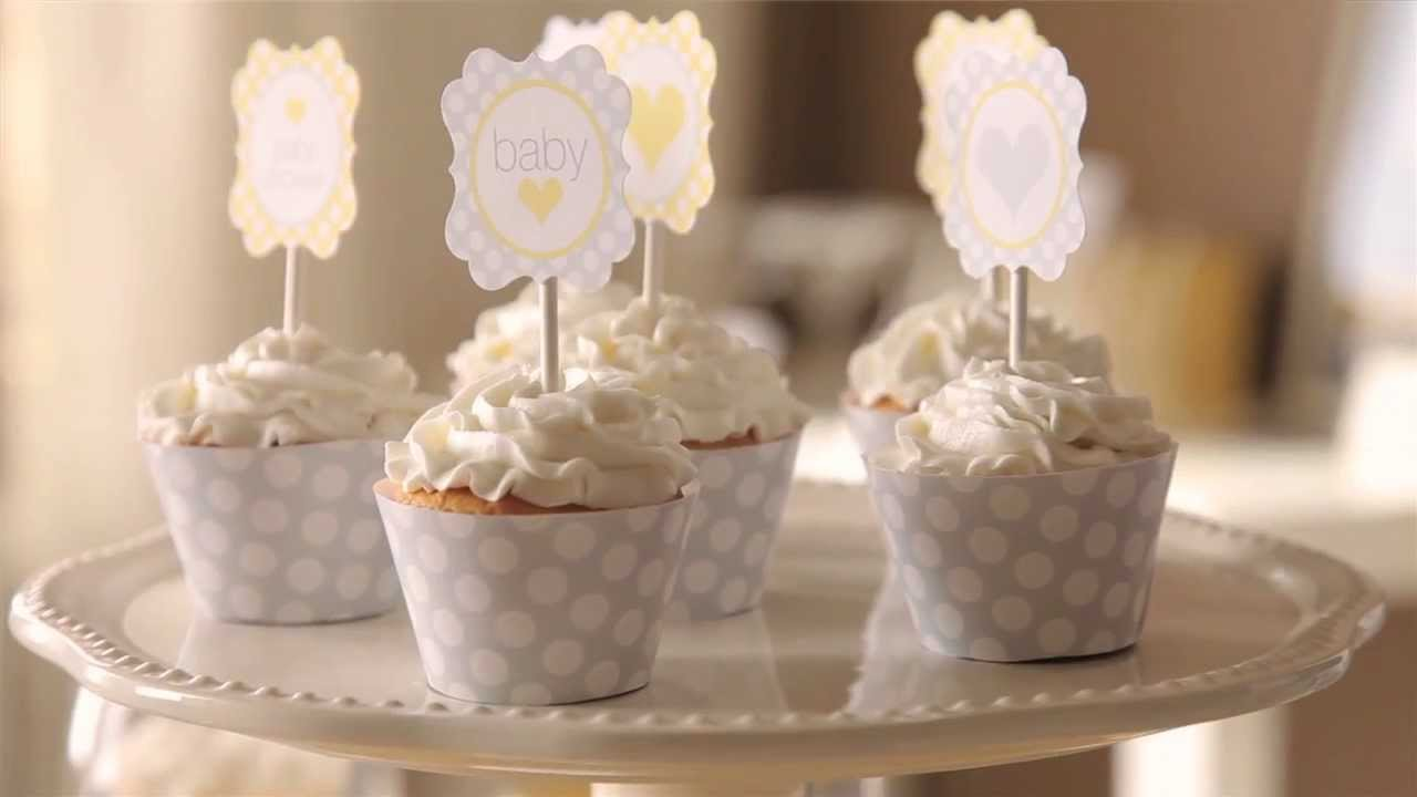 Exceptional Pottery Barn Baby Shower Part - 4: How To: Cute Cupcake Dressings For A Sunshine Baby Shower | Pottery Barn  Kids - YouTube