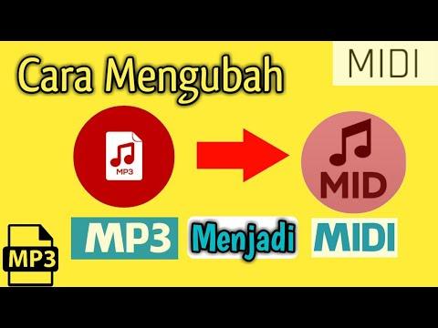 Mengubah Mp3 Menjadi Midi File || Download + Cara Aplikasinya