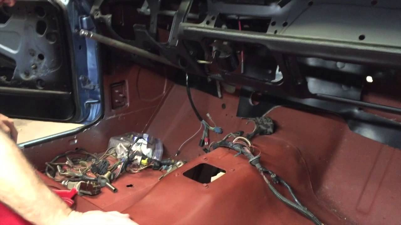 Underdash and Underhood Wiring - Oscar's 1967 Early Year Shelby GT350 - Day  56 - Part 2 - YouTubeYouTube