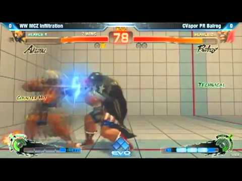 EVO 2012 Top 8 : Infiltration (Akuma) vs CVapor PR Balrog Download MP3