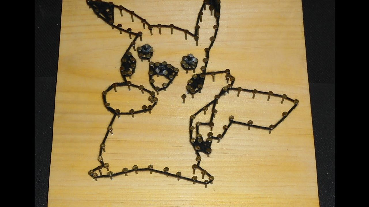 Pokemon String & Wood Art + Website up and running! - YouTube