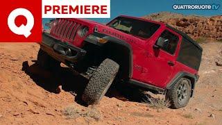 Jeep Wrangler Rubicon: fuoristrada estremo in Nevada!