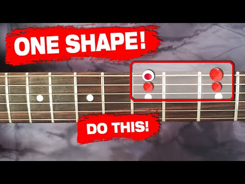 Know This ONE Scale Shape for INFINITE Solos! (ENDLESS FUN!)