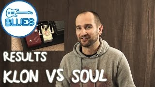RESULTS - Klon KTR vs Soul Food Blind Test