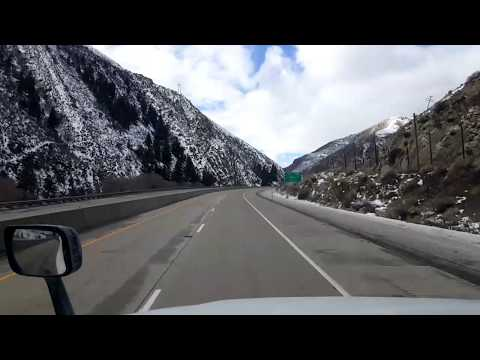 BigRigTravels LIVE! Echo to Corinne, Utah Interstate 84 West-Jan. 12, 2018
