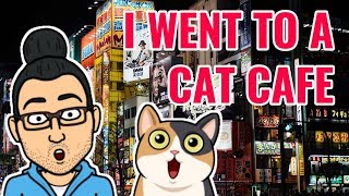 My First Ramen and Cat Cafe Experience in Akihabara | Vlog #3