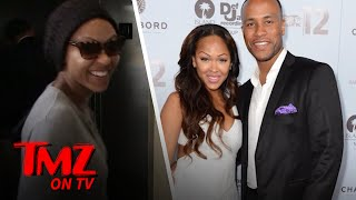 Meagan Good has a fear of heights but she faced that fear to celebr...